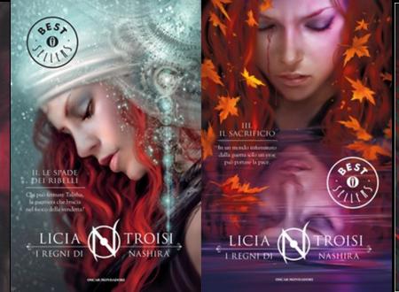 Recensione del Romanzo : I Regni di Nashira ( la serie completa) di Licia Troisi
